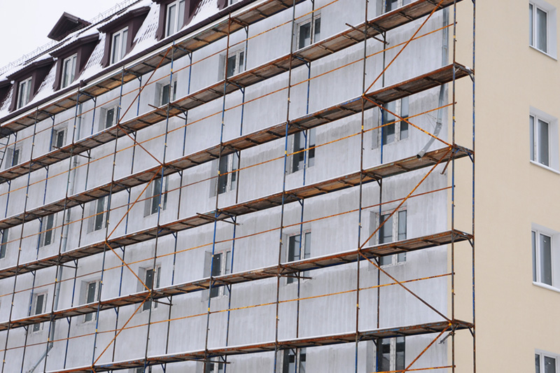 apartments scaffolding